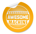 "Awesome Machine – Call it slot machine, fruit machine, one-armed bandits, the slots, poker machine or ""pokies"", or simply a slot, the fun is guaranteed!"