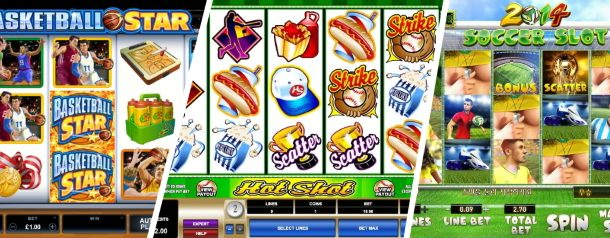 3 Sports Themed Slot Machines You Should Play At Least Once